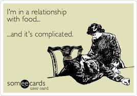 My struggle with food……..